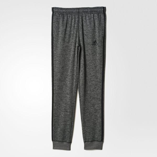 Adidas Team Issue 男裝 長褲 素面 縮口褲 刷毛 棉褲 保暖 灰【運動世界】AY7455