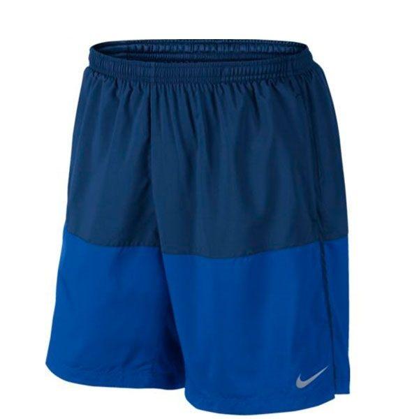 NIKE DISTANCE SHORT DRI-FIT 男裝 短褲 慢跑 七吋 排汗 透氣 有內襯 舒適 藍 深藍 【運動世界】 642808-430