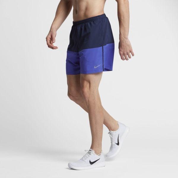 NIKE DISTANCE SHORT DRI-FIT 男裝 短褲 慢跑 五吋 排汗 透氣 有內襯 舒適 藍 深藍 【運動世界】 642805-429