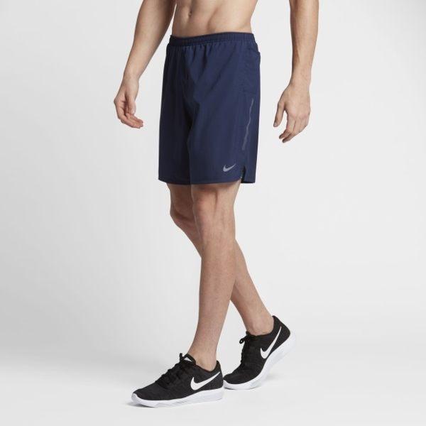 NIKE PHENOM 2-IN-1 男裝 短褲 七吋 慢跑 休閒 排汗 訓練 舒適 內襯 藍 【運動世界】 683280-429
