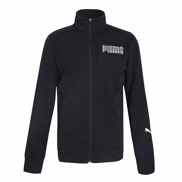 PUMA 男裝 外套 刷毛 立領 棉質 保暖 黑【運動世界】 59033926
