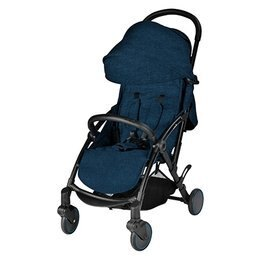 【淘氣寶寶】英國uniloveS-light歐系輕便推車藍色加贈MAXI-COSI提籃+專用前扶手【輕巧迷你收折可站】