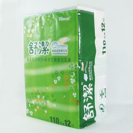 舒潔 優質抽取式衛生紙 110抽*72包