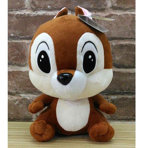 【真愛日本】17072600003 坐娃-20吋奇奇 花栗鼠 奇奇蒂蒂 松鼠 娃娃 玩偶 絨毛娃