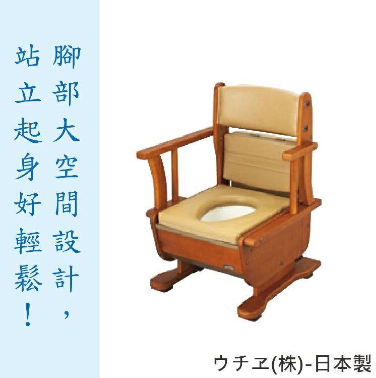 <br/><br/>  [預購] Uchie移動廁所- 「泉」移動式 老人用品 木製 家具風 日本製 [T0666]<br/><br/>