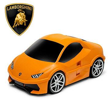 【nicegoods】原廠跑車兒童行李箱-橘色藍寶堅尼 (RIDAZ Lamborghini行李箱 兒童登機箱)