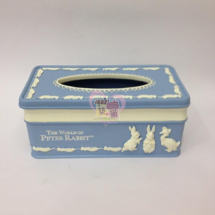 比得兔PeterRabbit 北歐風面紙盒/紙巾盒, 同系列另有壁鐘/置物盤/桌鐘可搭配