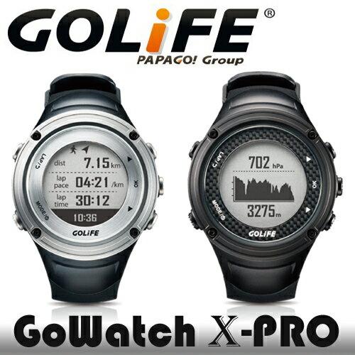 PAPAGO! GOLiFE GoWatch X~PRO 全方位戶外GPS智慧 錶 黑