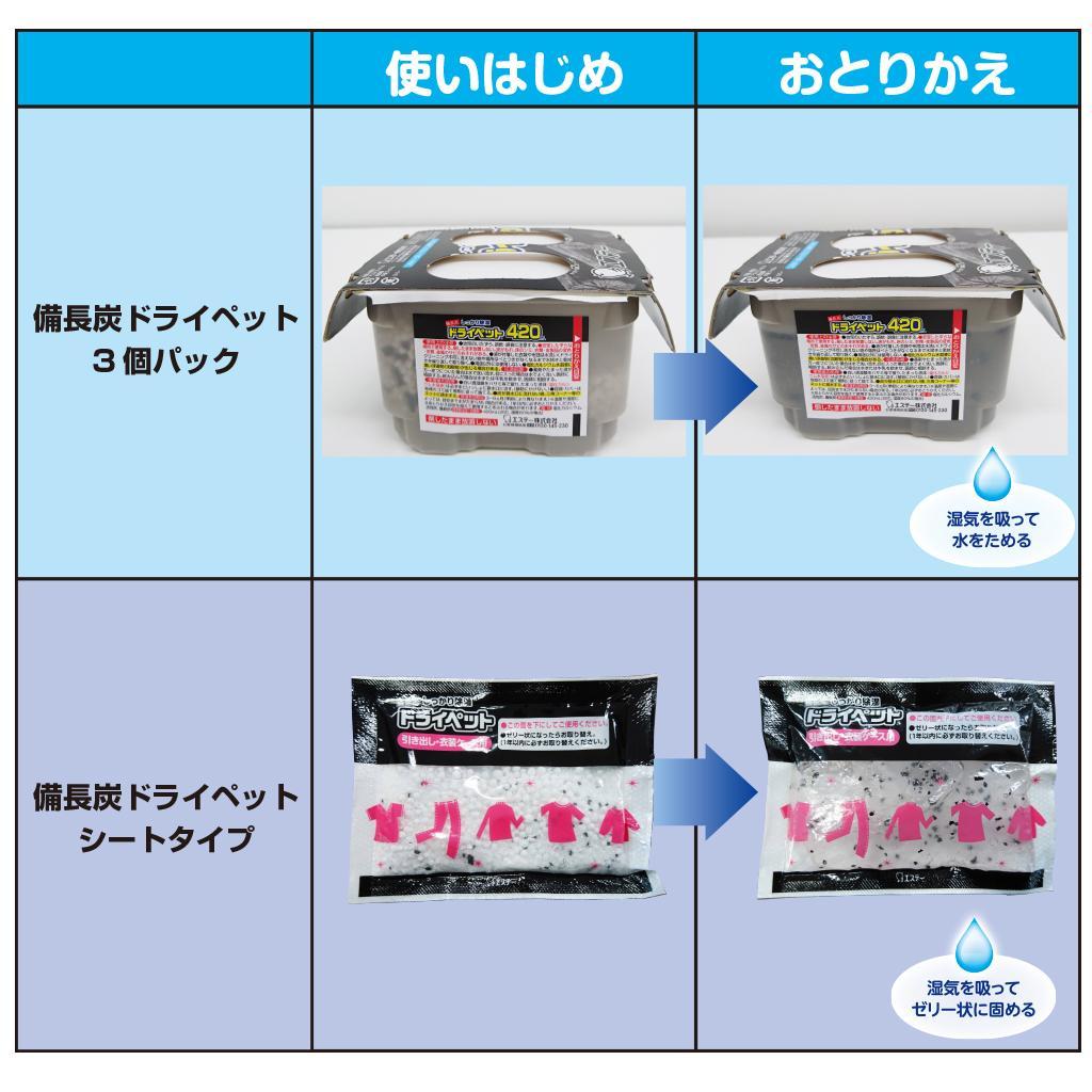 雞仔牌ST備長炭吸濕小包-抽屜衣櫃用(25g x 12入) 3