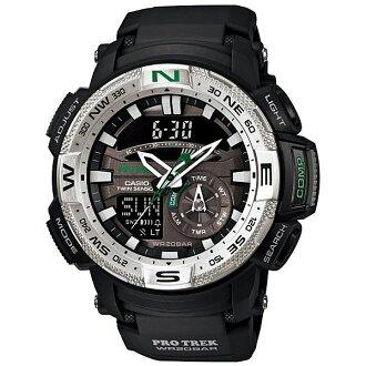 CASIO PRO TREK 登山錶 PRG-280-1雙顯專業登山腕錶/55mm