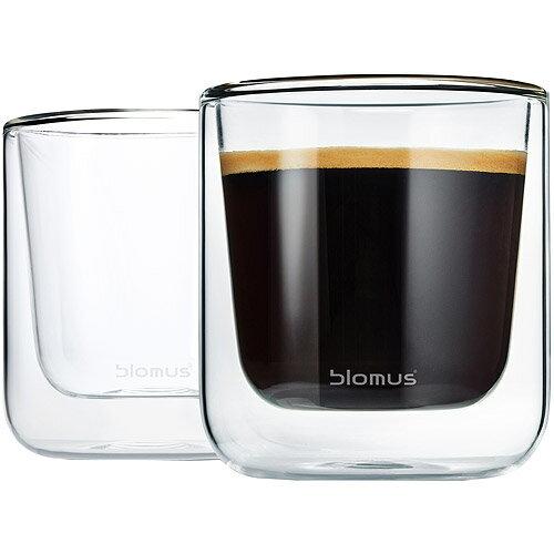 《BLOMUS》Nero雙層玻璃杯2入(200ml)