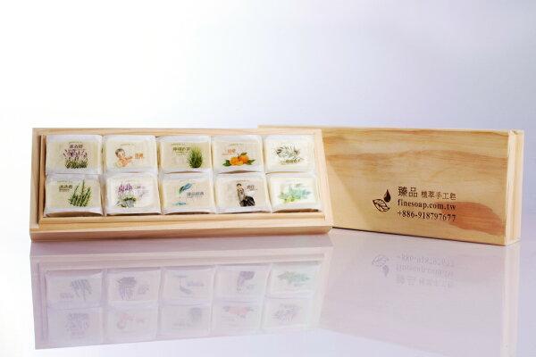 臻品植萃手工皂:臻品植萃-十全杉木禮盒