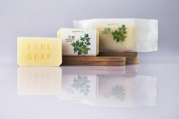 臻品植萃手工皂:臻品植萃艾草Wormwood22.5G旅行用植萃皂1入