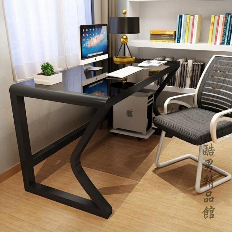 電腦台式桌家用簡約現代電腦桌子經濟型書桌簡易寫字台雙人電腦桌