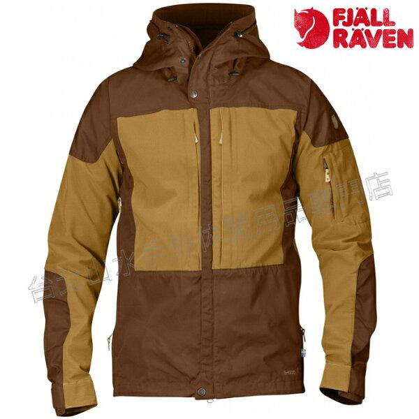 Fjallraven瑞典北極狐Keb薄軟殼衣軍裝夾克獵裝風衣G-1000男款81762230-166栗子橡子台北山水