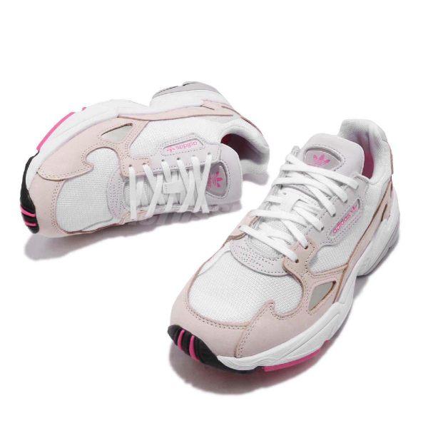 【ADIDAS】FALCON W 白粉 經典鞋 復古鞋 休閒鞋  慢跑鞋 女 訂價3690 DB2763 (Palace store) 1