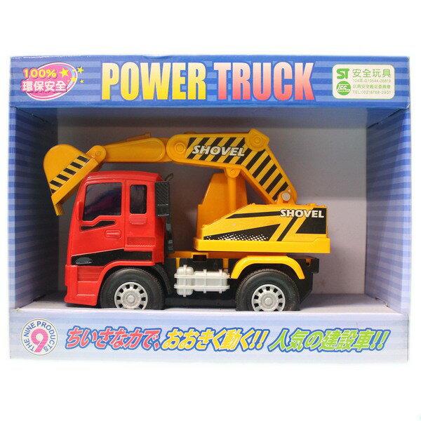 韓版 摩輪挖土車 工程車ST-02 (盒裝.中型) / 一台入 { 促199 }  ST安全玩具~生 0