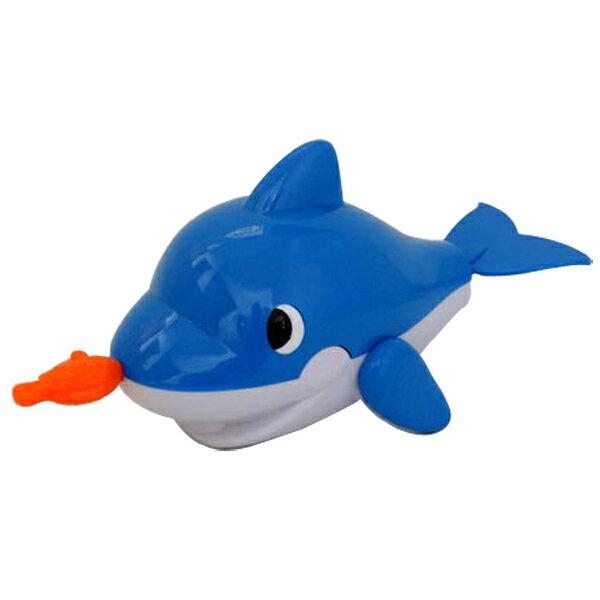 【888便利購】拉線藍色小鯨魚洗澡玩具(ST)