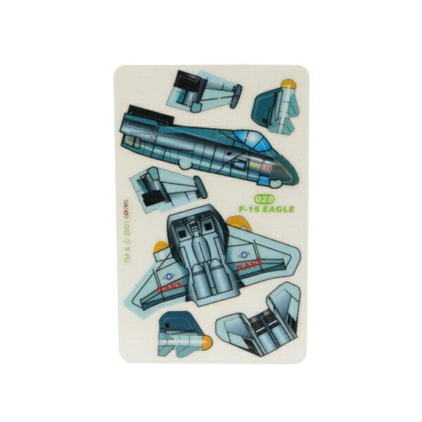 【888便利購】3D立體拼圖卡片(塑膠片單片裝)(多款)