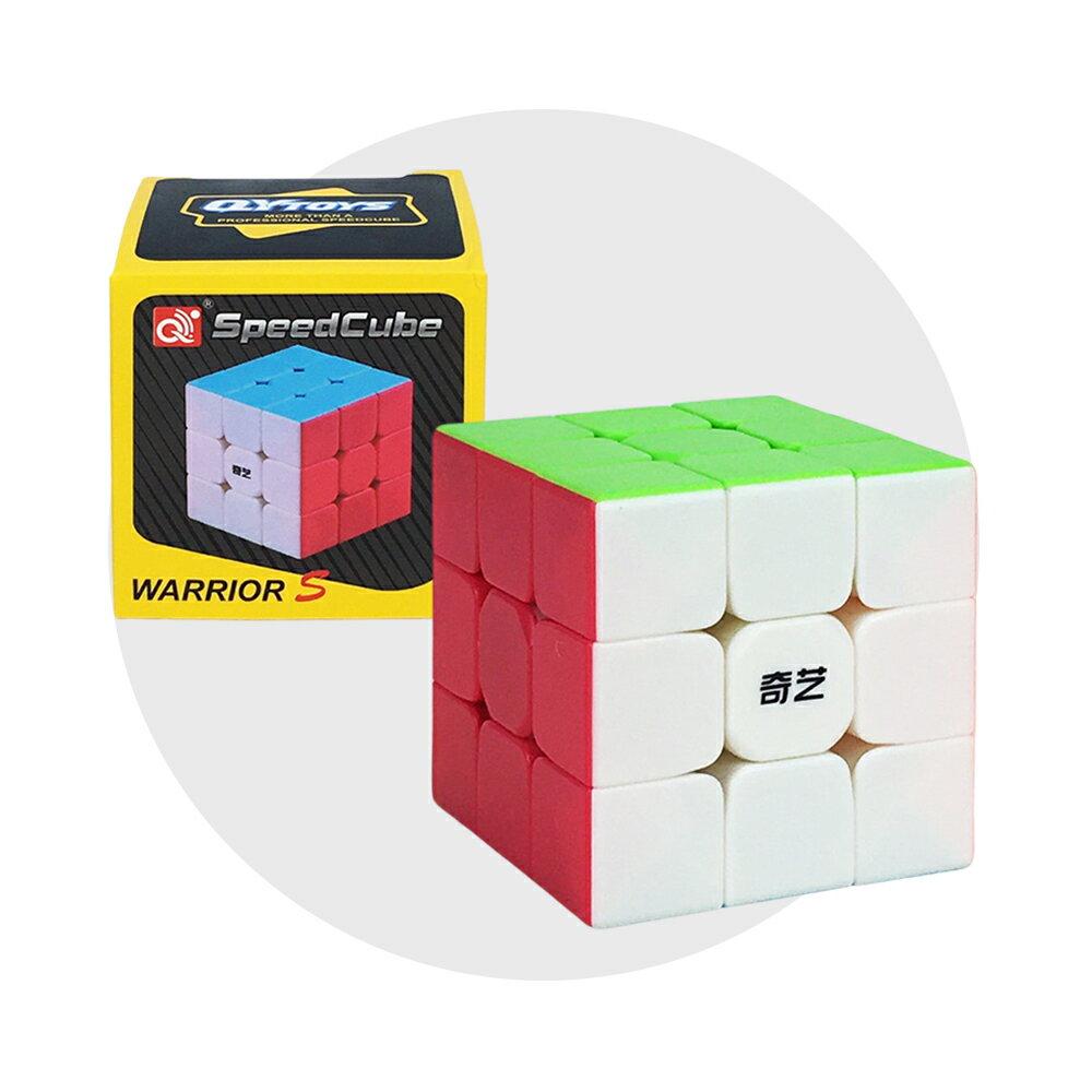 魔方格三階比賽專用魔術方塊(六色螢光版)(授權)【888便利購】