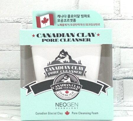 【小資屋】韓國 NEOGEN DERMALOGY加拿大冰河活氧淨透泥面膜 120g 效期:2019.11.22