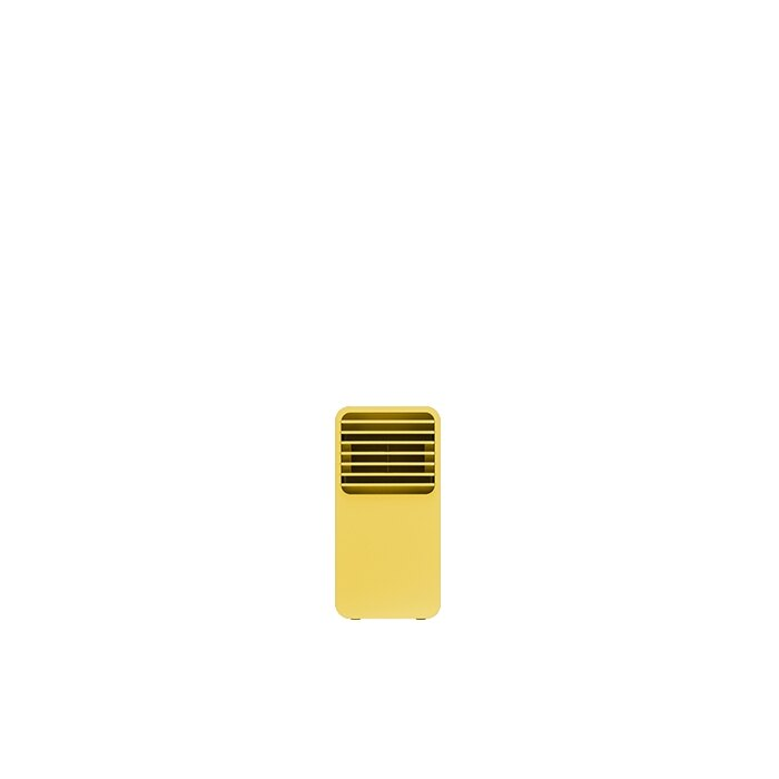 正負零迷你陶瓷電暖器-黃色 1