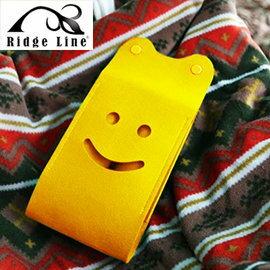 【【蘋果戶外】】Ridge Line OT867277YE 韓國 彩色微笑面紙盒 黃色 放置便利/可做吊飾物