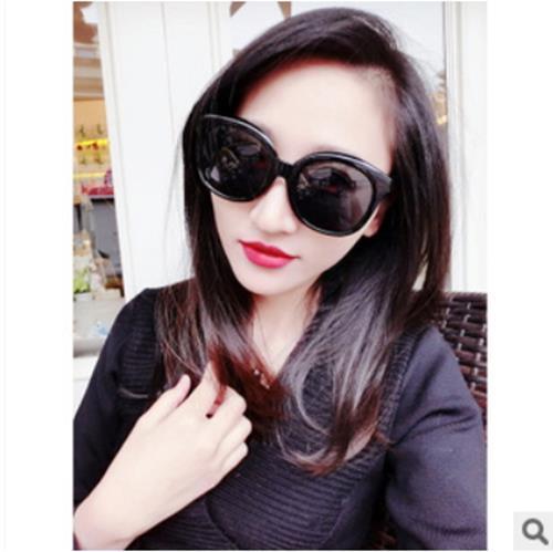 50%OFF SHOP【J05266Gls】大框復古潮男女個性裝飾墨鏡明星款太陽眼鏡 附眼鏡盒 防紫外線 明星款 反光鏡面