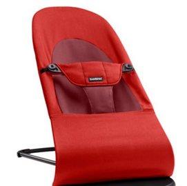 【淘氣寶寶】瑞典 BabyBjorn Bouncer Balance Soft 柔軟彈彈椅-酒紅 【彈椅自然擺動不需使用電池/符合人體工學】【正品】