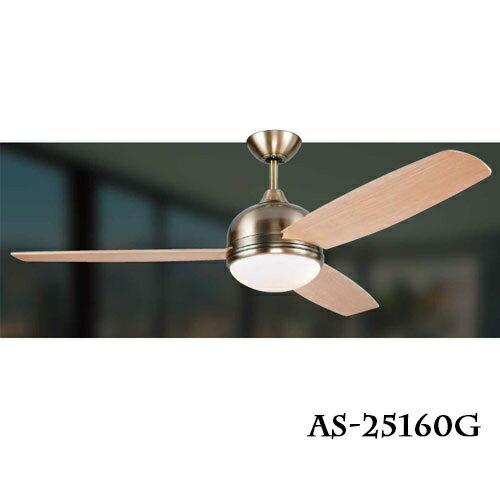 領航者 ASAIILER 工業風系列/經典款 52吋 LED 18W DC吊扇燈 風扇燈 楠木 〖永光照明〗AS-25160G