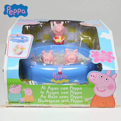 【Peppa Pig】粉紅豬小妹 快樂洗澡遊戲組PE36011★衛立兒生活館★