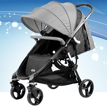 【酷貝比】城市嬰兒手推車 共三色可選 紅/灰/黑 贈送價值NT$690雨罩 1