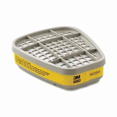 3M 6003 有機酸性氣體 濾毒罐 噴農藥使用 適用6200/7502口罩 1包2入
