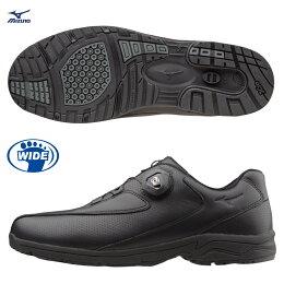 WAVE LD40 BOA無鞋帶系統 寬楦男款健走鞋 B1GC152609