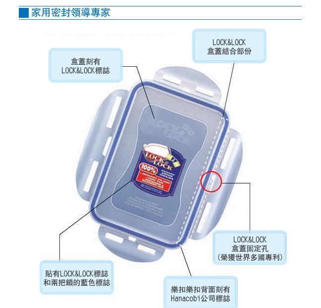 現貨附發票【樂扣樂扣】CLASSICS系列保鮮盒/長方形1.2L(HPL808H) 樂扣樂扣PP保鮮盒1200ML 樂扣保鮮盒