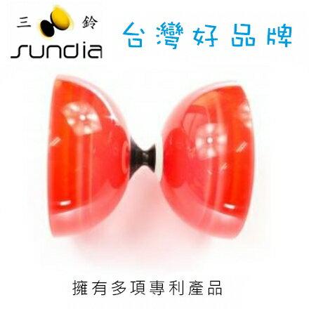 SUNDIA 三鈴 炫風單培鈴系列 SH.1B.CR炫單透紅 / 個