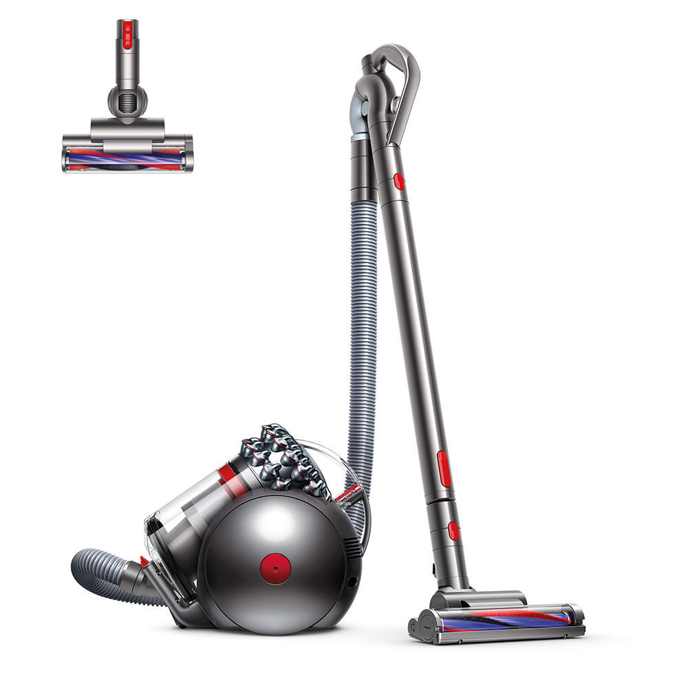 Dyson Cinetic Big Ball Animal Canister Vacuum | Nickel/Red |Refurbished 0