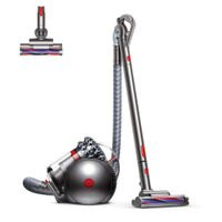 Dyson CY22 Cinetic Big Ball Animal Canister Vacuum | Nickel/Red |Refurbished