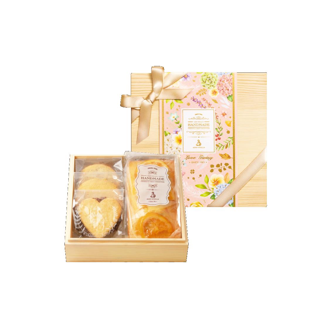 【詩特莉手工餅乾】花宴之美 (磅蛋糕)