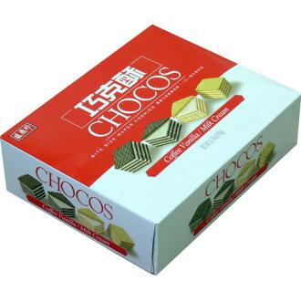 《盛香珍》巧克酥(牛奶+咖啡香草)180gX10盒入(箱)