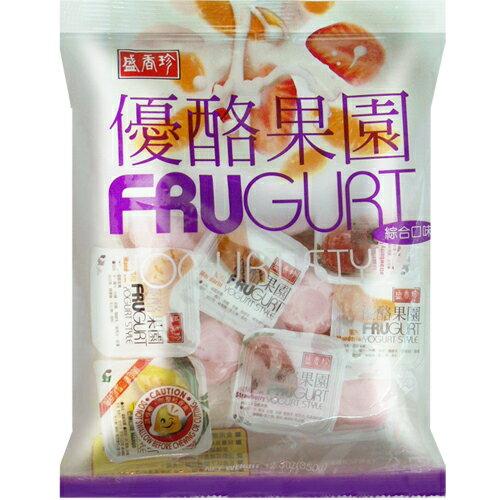 《盛香珍》優酪果園果凍(綜合風味)330gX10包入(箱)