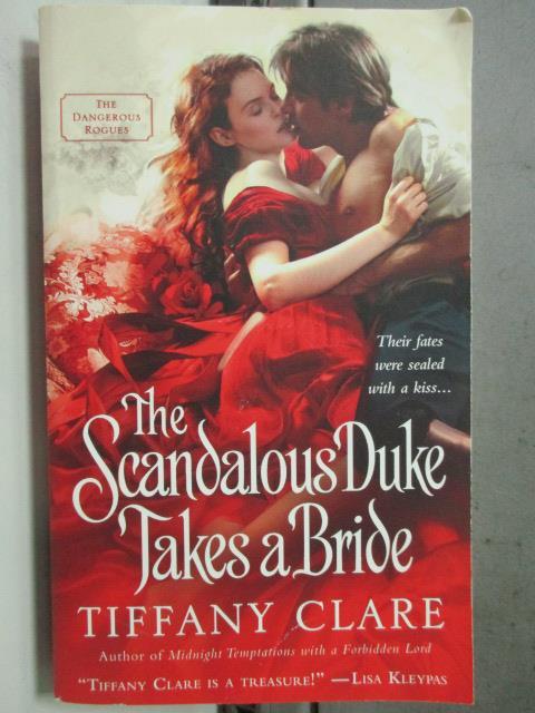 【書寶二手書T5/原文小說_HIY】The Scandalous Duke Takes a Bride_Tiffany