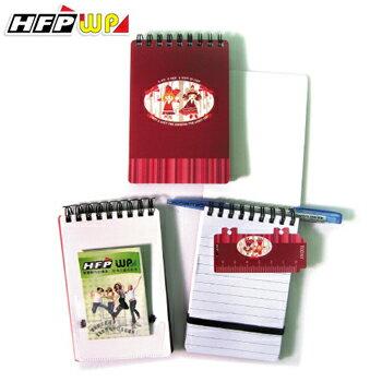 HFPWP 可愛 口袋型筆記本100張內頁附索引尺N3351TG~10 製10本   箱