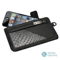 #TP 俬品創意 - 設計款紙革鱷魚紋iPhone保護套 (適用5/SE)