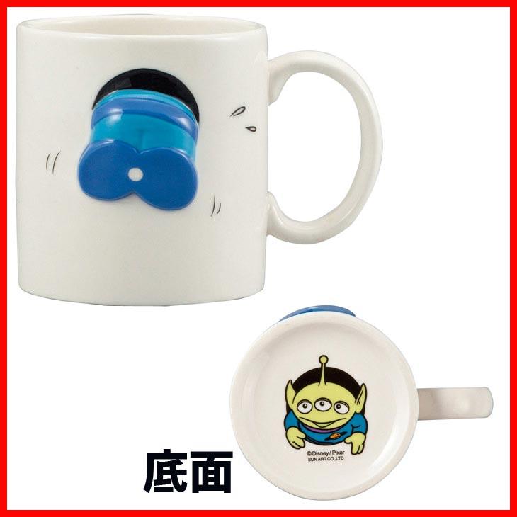 【真愛日本】 17072700020 浮雕馬克杯-三眼怪屁股 皮克斯 玩具總動員 TOY 胡迪 杯子 茶杯