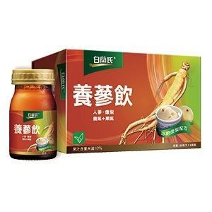白蘭氏 養蔘飲冰糖燉梨 60ml*6入/盒◆德瑞健康家◆