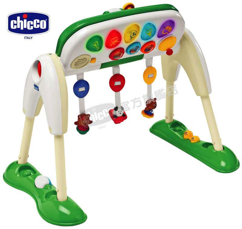 chicco多功能音樂健力架