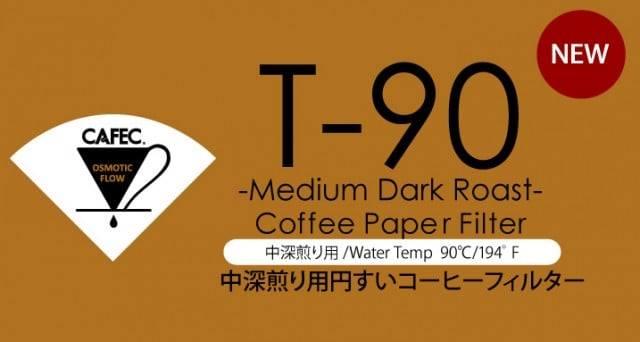 三洋濾紙 CAFEC 中深焙錐形濾紙100入 (1-2人份)、(2-4人份) 咖啡濾紙《vvcafe》 3