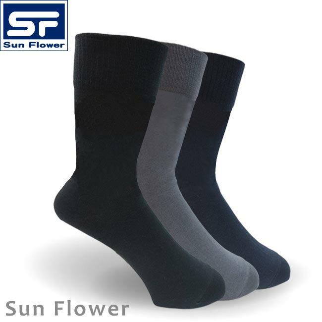 【Sun Flower三花】S003_無痕肌紳士襪