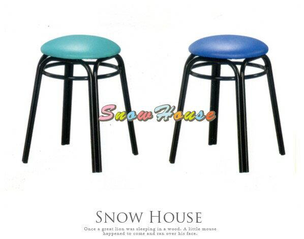 ╭☆雪之屋居家生活館☆╯AA880-01/02/03/04/05/08/09/10烤黑加圈雙管皮面椅/造型椅/餐椅